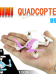 UDIRC U939 Mini RC Quadcopter Drone In Door Funny Toys 3D Flip with LED Light