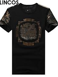 t-shirt di qualità t-shirt modello cinese drago uomini