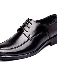 Men's Oxfords Spring Summer Fall Winter Comfort Formal Shoes Leather Casual Low Heel Lace-up Black
