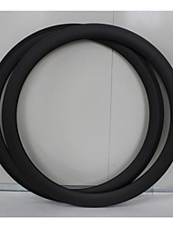700C 38mm Width 23mm Carbon Fiber Tubular Rims Bicycle Rims