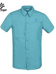 Tectop Mens Short Sleeved Shirt Men's quick dry shirt fast drying TS4091