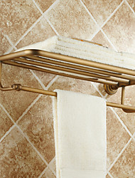 Antique Brass Wall Mounted Towel Bars