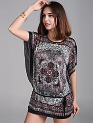 Wiivip Women's Floral Print Dresses
