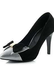 Women's Shoes Wedge Heel Pointed Toe Pumps Dress Black