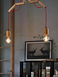 maishang® Kronleuchter mini style moderne / zeitgemässe Wohn- / Schlafraum / Esszimmer / Arbeitszimmer / Büro Holz / Bambus