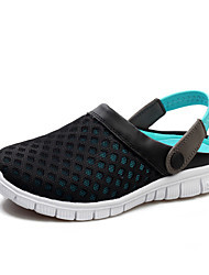 Zapatos de Hombre Exterior/Casual Cuero Sintético Zuecos Azul/Negro/Rojo