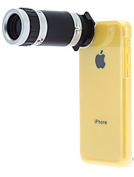 iPhone5c Mobile Phone Telescope 8X for 5C with Back Case