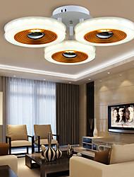 putian ™ Montaggio a filo condotto moderna / contemporanea soggiorno / letto / pranzo / cucina / studio / officeacrylic metallo