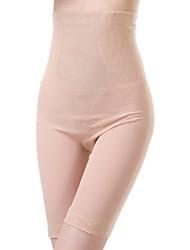 bragas de los pantalones de spandex faja de cintura de poliéster bordado almendras sexy ropa interior de la talladora