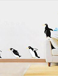 amovibles balises pingouin pvc environnementales&autocollant