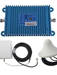 Intelligence Dual Band GSM/DCS 900/1800MHz Mobile Phone Signal Repeater Booster Amplifier + Outdoor Panel Antenna Kit