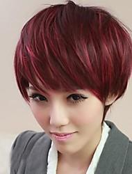 Fashion Oblique Detonation Liu Haigao Quality Synthetic Red Hair