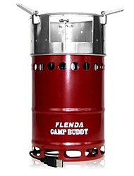 Flenda Stainless Steel Stove Blue / Red / Yellow Sets