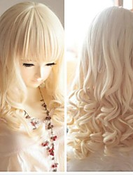 Golden Big Waves of High Quality Synthetic Hair Fashion