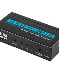 T303A HDMI1.4 3x1 Switcher (3D 4Kx2K)