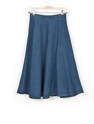 Women's Blue Denim Skirt , Vintage