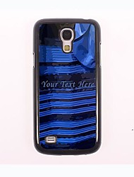 Personalized Phone Case - Black and Blue Dress Design Case for Samsung Galaxy S4 mini I9190