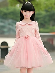 Girls long-sleeved dress