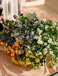 """12.6 """"l conjunto de 1 5 extremidades flores de seda de tela gypsophila"""
