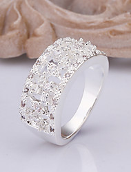 Women's silver Plated Ring
