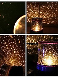 Wedding Décor Starry Night Sky Projector Colorful LED Night Light (AC/3xAA)