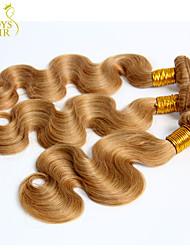 Mensenhaar - Blond - Haarextensies - voor Vrouw - Golvend/Body Golf