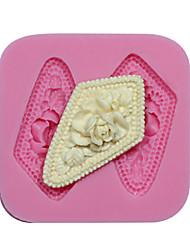 Cameo Silicone Flower Mold Silicone Mold Cupcake Decorating Silicone Mold For Fondant Fimo Gum Paste & Soap Chocolate