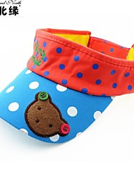 High Quality and Comfortable Dot Bear Children Towel Cotton Empty Hat The Baby in The Summer of Cap
