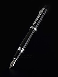 0.5mm Black Metal Business Fountain Pen for Painting