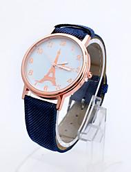 Relógio de pulso - Mulher - Quartzo - Digital - Torre Eiffel