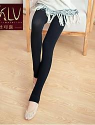 Women Velvet Warm Bottoming Step Foot Pantyhose
