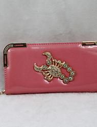 Women Casual PU Leather Zipper Wallets
