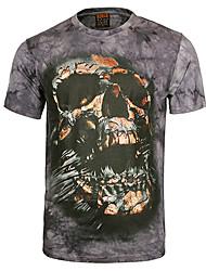 t-shirt 3d duolor charme da moda impresso