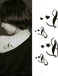 Music Notation Note Symbol Tattoo Stickers Temporary Tattoos(1 Pc)