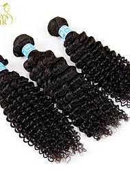 La extensión del pelo - para Mujer - Cabello natural - Negro - Kinky rizado