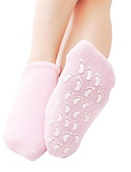 Brand New Soft Spa Gel Socks For Feet Beautiful Moisturizing Gel Spa Socks Silicon Gel Booties SPA Insoles