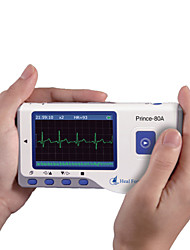 Heal Force Color Digital Mini Handheld PC-80A Blue tooth ECG EKG Portable Electrocardiogram monitor English Ver.