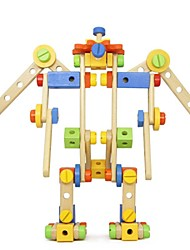 BENHO Nut Set Wooden Building Blocks Baby Toy