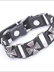 tina - accessoire en alliage de mode vintage bohème bracelet en cuir au sein du parti
