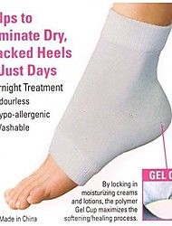 Feet Care Moisturizing Gel Heel Socks Soft Heel Sleeves Cracked Foot Skin Care Protector Foot Care Tool Pedicure Socks
