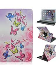 360⁰ Cases (Cuir PU , Couleurs assorties) - Design spécial pour Pomme iPad Air 2