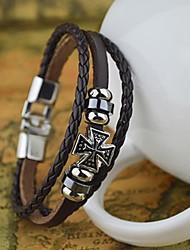 Leder - Lederen armbanden - Armbanden - voor Dagelijks/Causaal/Sport - 1pc