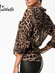 NUO WEI SI ®  Women's Leisure Chiffon All Match New Style Blouse
