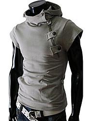 niceman мужская мода случайный коротким рукавом балахон
