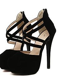 De babiniu damesmode hele wedstrijd schoenen met hoge hakken