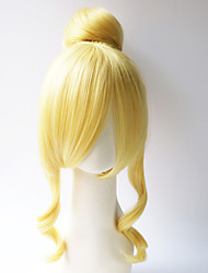 Love live!Eli Ayase Kimono Ver Light Golden Cosplay Wig