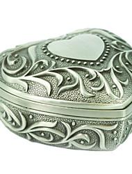 Women's  Geometrical Metal Jewelry Box