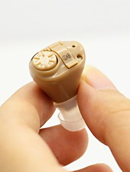Best Digital Hearing Aid Aids Mini ITE Adjustable Tone Sound Voice Amplifier Acousticon