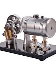 NEJE DIY Cylinder Hot Air Steam Engine Model Toy