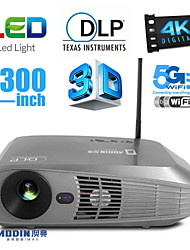 Aodin Android OS 3D LED Projector Home Theater and Business 3500LM 4K with VGA USB SD HDMI Input